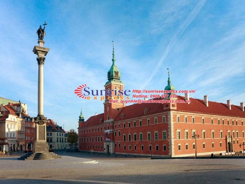 Dịch vụ gửi hàng đi Ba Lan giá rẻ nhất tại TpHCM