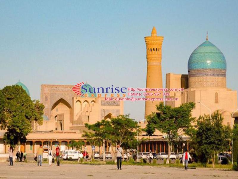 Dịch vụ gửi hàng đi Uzbekistan giá rẻ nhất tại TpHCM