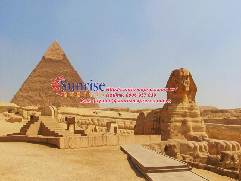 Dịch vụ gửi hàng đi Ai Cập giá rẻ nhất tại TpHCM