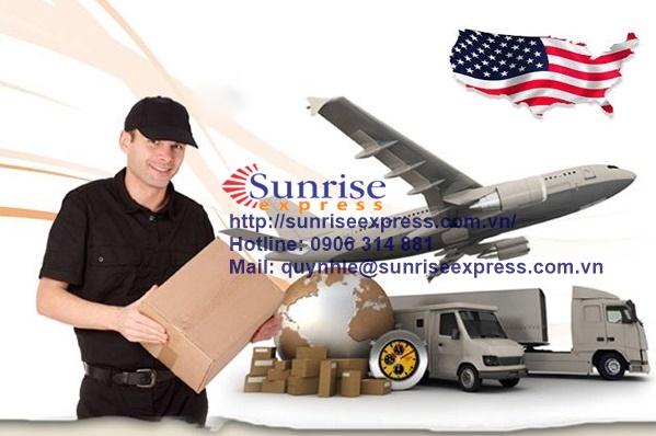 Dịch vụ gửi hàng đi Mỹ giá rẻ nhất tại TpHCM