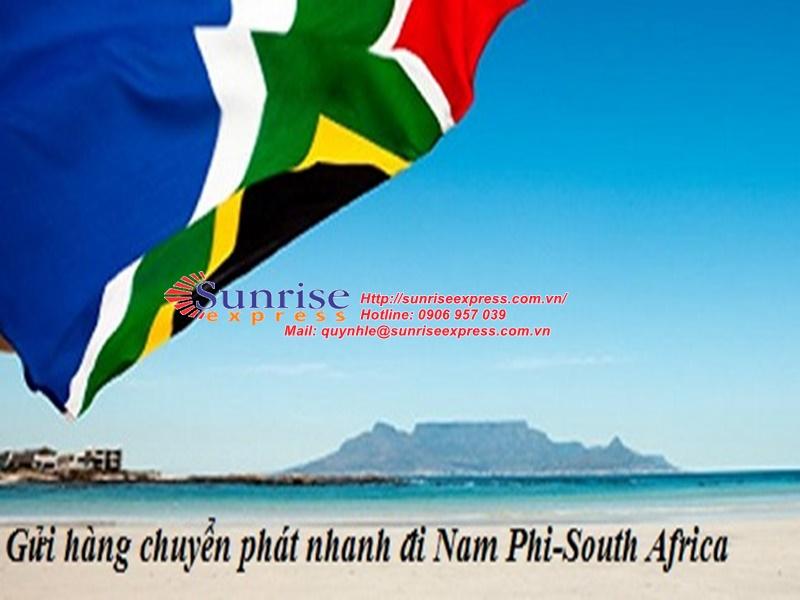 Dịch vụ gửi hàng đi Nam Phi giá rẻ nhất tại TpHCM