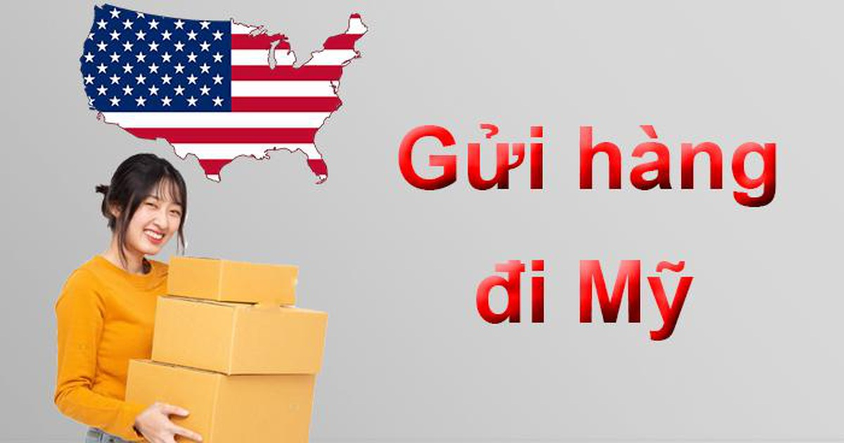 TIPS gửi hàng đi Mỹ qua đường hàng không